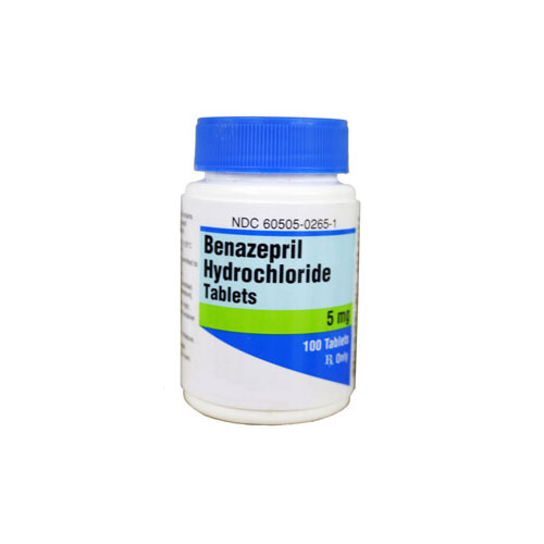 Benazepril Hcl 5 Mg