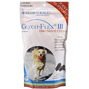 Glyco flex iii bite sized chews 120 soft chews for Fish flex for dogs
