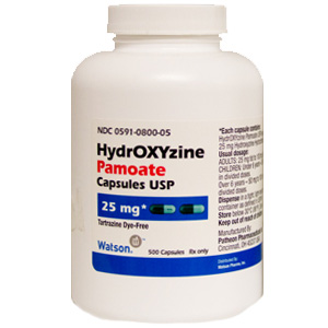 Hydroxyzine 25 Mg Cap