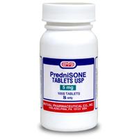 1000 mg of prednisone
