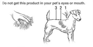 K Advantix  Small Dog Instructions