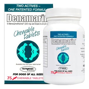 Denamarin 225 Mg For Dogs 75 Chewable Tablets Vetdepot Com