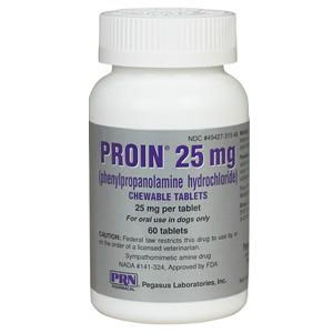 Proin 25 Mg 60 Chewable Tablets Vetdepot Com
