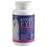 Angels' Eyes Tear Stain Remover for Dogs Chicken Flavor, 120 gm (4 oz)