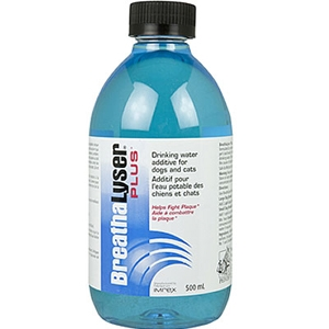 BreathaLyser Plus Drinking Water Additive for Dogs and Cats, 16.9 oz