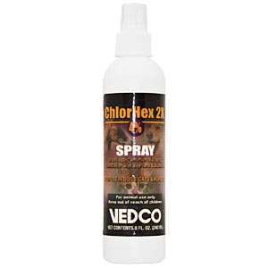 ChlorHex 2X 4% Spray, 8 oz