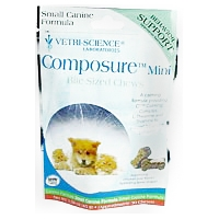Composure Mini Bite-Sized Chews, 30 Soft Chews