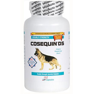 Cosequin DS (Double Strength) for Dogs, 132 Capsules