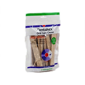 Dentahex Oral Care Chews, Petite, 30