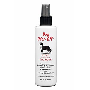 Dog Odor-Off Spray With Cedar, 8 oz