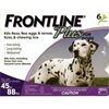 Frontline Plus for Dogs 45-88 lbs, Purple, 6 Pack