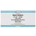 Gauze 4 x 4 - 12 ply General Use Sponges, 200