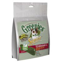 Greenies Senior Treat Pack, Regular, 12 oz (12 Treats)