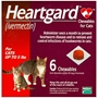 Heartgard for Cats 1-5 lbs, Red, 6 Chewables