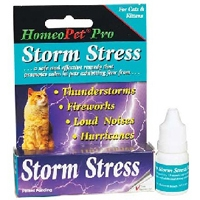 HomeoPet Pro Storm Stress for Cats and Kittens, 5 mL