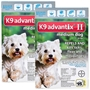 K9 Advantix II for Dogs 11-20 lbs, Teal, 12 Pack