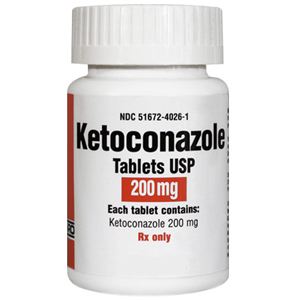Ketoconazole 200 mg, 30 Tablets
