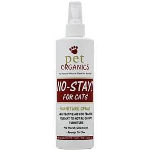 No Stay! Furniture Spray for Cats, 16 oz