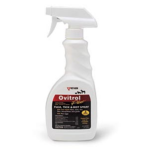 Ovitrol Plus Flea, Tick, and Botfly Spray, 16 oz