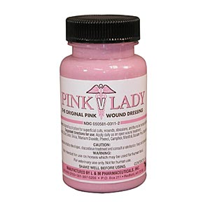 Pink Lady Wound Dressing, 4 oz