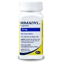 Rimadyl (Carprofen) 25mg, 60 Chewable Tablets