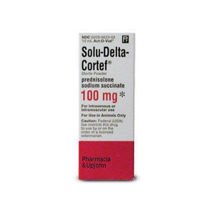 Solu-Delta Cortef 100mg, 10 mL