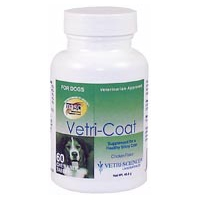 Vetri-Coat for Dogs, 60 Chewable Tablets