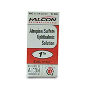 Atropine Sulfate Ophthalmic Solution 1%, 5 mL | VetDepot.com