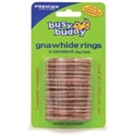 Busy Buddy Flavored Cornstarch Gnawhide Rings, Medium : VetDepot.com