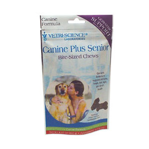 Canine Plus Senior Bite-Sized Chews, 60 Soft Chews