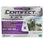 Certifect for Dogs 45-88 lbs, 3 Month (Purple)