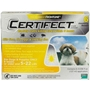 Certifect for Dogs 5-22 lbs, 6 Month (Yellow)