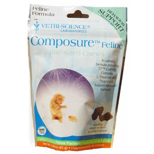 Composure Feline, 30 Bite-Sized Soft Chews