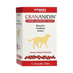 Crananidin for Dogs, 75 Chewable Tablets