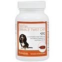 Derma-3 Twist Caps for Small Dogs and Cats, 60 Capsules