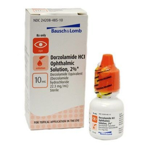 Dorzolamide 2% Ophthalmic Solution, 10 mL