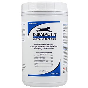Duralactin Canine Joint Plus, 240 Soft Chews