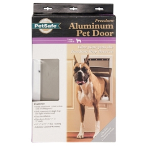 Freedom Aluminum Pet Door, Large
