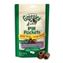 Greenies Pill Pockets Allergy Formula Treats for Dogs, 25 Capsules - 6 Pack