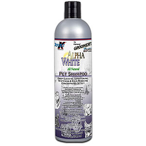 Groomer's Edge Alpha White Shampoo, 16 oz
