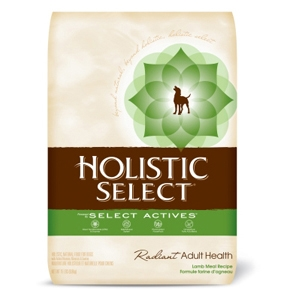 Holistic Select Dog Food Lamb & Rice, 15 lb