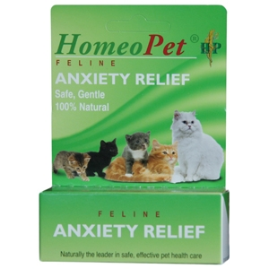HomeoPet Feline Anxiety Relief Drops, 15 mL