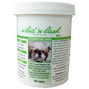 I-Lid'n Lash Hygiene Vet Wipes, 100 Count