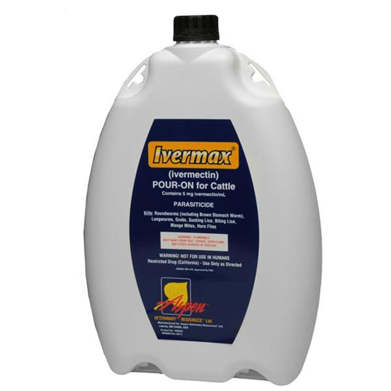 Ivermax Pour-On For Cattle 5 Litre (Ivermectin)