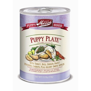 Merrick Grain Free Puppy Plate Canned Dog Food, 13.2 oz - 12 Pack