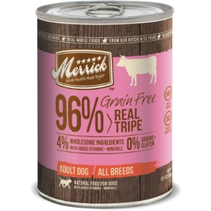 Merrick Grain Free Real Tripe Canned Dog Food, 13.2 oz - 12 Pack