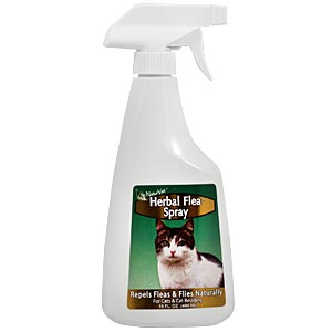 NaturVet Herbal Flea Spray for Cats, 16 oz