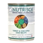 Nutrisca Turkey & Chickpea Stew Canned Dog Food, 13 oz - 12 Pack