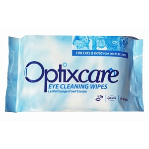 OptixCare Eye Cleaning Wipes, 50 Wipes