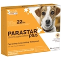 Parastar Plus for Dogs 0-22 lbs, 3 Pack | VetDepot.com